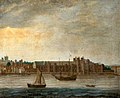 British (English) School - View of the Thames with the Old Palace of Placentia at Greenwich, London - 1257189 - National Trust.jpg