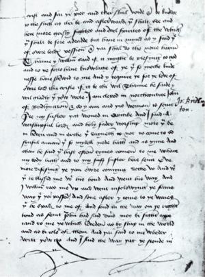 John Theyer - Image: British Library MS Royal 17 B xliii Folio 134r