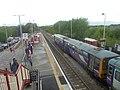 British Rail Class 144 at Pontefract Monkhill railway station (25th April 2019) 001.jpg