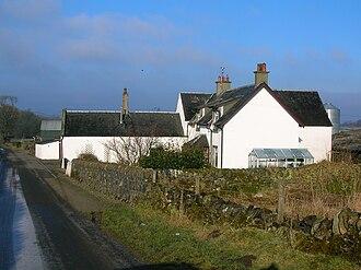Broadstone Castle - Broadstone Farm, previously known as Hillhead.