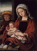 Brooklyn Museum - The Holy Family - Circle of Joos van der Beke called Joos van Cleve.jpg