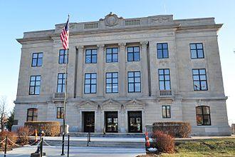 Hiawatha, Kansas - Brown County Court House (2011)