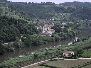 L'Arno a Brucianesi