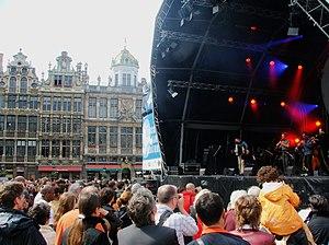 Jazz in Belgium - Brussels Jazz Marathon, Grand Place, Brussels