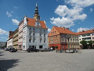 Brzeg Place in Opole, Poland