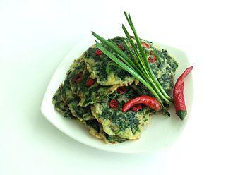 Allium tuberosum - Image: Buchujeon(garlic chive pancake)