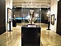 Bucuresti, Romania. Biblioteca Nationala. Expozitie Comorile Egiptului Antic. Masca mortuara a lui Tutankhamon. (2).jpg