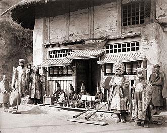Bhutia - Buddhist Monastery in Darjeeling, 1870
