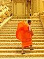 Buddhist Monk - Phnom Penh - Cambodia 02.JPG