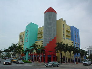 Building in Miami Beach, Florida