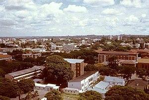 Timeline of Bulawayo - Image: Bulawayo, Rhodesia 1976