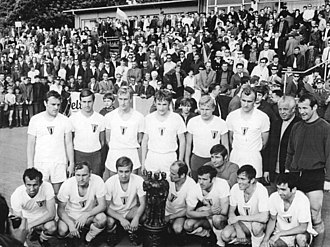 1. FC Frankfurt - The cup-winning team of 1970