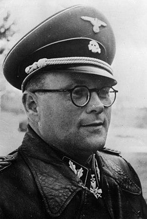 Karl Gebhardt - Major General Karl Gebhardt, brigade commander of the Waffen-SS