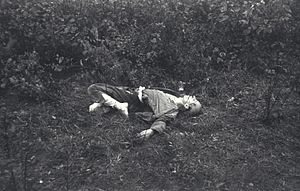 Postenpflicht - A prisoner who was shot and killed at Mauthausen-Gusen concentration camp