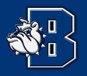 Burbank High School (Burbank, California) - Image: Burbank High School Bulldog and Letter Logo