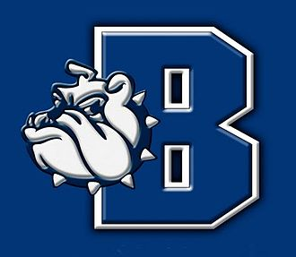 Burbank High School (Burbank, California) - Image: Burbank High School Bulldog and Letter Logo