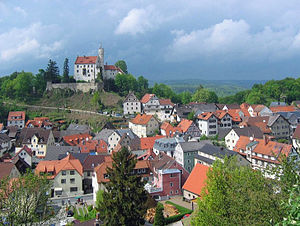 Gößweinstein - View of the town
