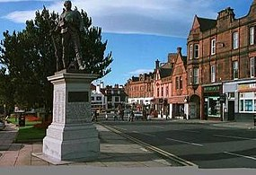 Burns statue square.JPG
