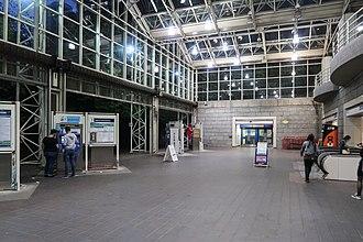 Burrard station - Ground floor concourse