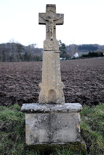 Croix de chemin à Burtoncourt.