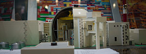 Bushehr Nuclear Power Plant - Bushehr Nuclear Power Plant model.