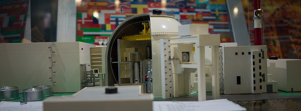 Bushehr Nuclear Power Plant model 2010