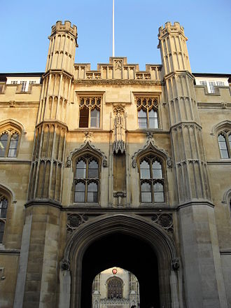 Corpus Christi College, Cambridge - The main gate of the college