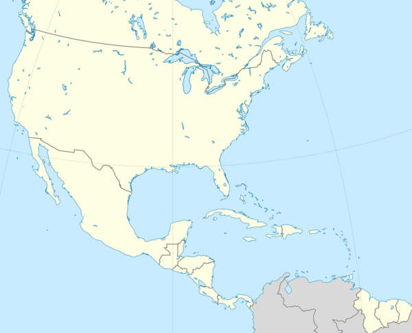 2015–16 CONCACAF Champions League is located in CONCACAF