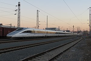 China Railways CRH380A - A CRH380A equipped with brushless electric motor