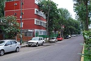 Centro Urbano Benito Juárez - One of the remaining apartment buildings on Orizaba Street