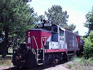 Commonwealth Railway - Image: CWRY444GP16