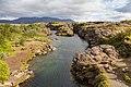 Cañón Flosagja, Parque Nacional de Þingvellir, Suðurland, Islandia, 2014-08-16, DD 040.JPG