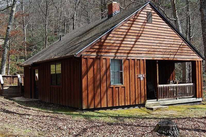 File Cabin 18 Allows Six Sleeps Six This Two Bedroom