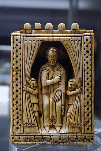 Queen (chess) - Vizier piece from a Southern Italian chess set, 12th century