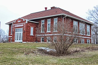 National Register of Historic Places listings in Green County, Wisconsin - Image: Cadiz Township Joint District No. 2 School