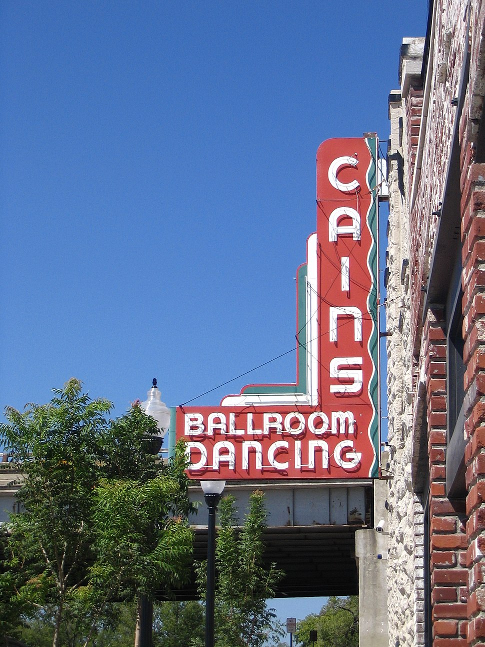 Cains Ballroom Sign