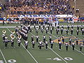 Cal Band performing pregame at EWU at Cal 2009-09-12 9.JPG