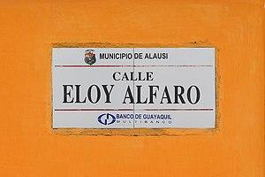 Calle Eloy Alfaro, Alausí.jpg