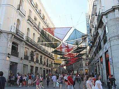 alcanzar Partido Pack para poner  Comment aller à Calle Del Carmen à Madrid en Métro, Bus ou Train ? | Moovit
