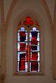 Calvary church Saint George, Micheldorf in Oberösterreich, glass window2.jpg