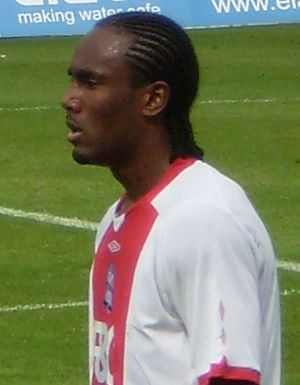 Cameron Jerome - Jerome playing for Birmingham City in 2008