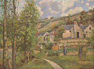 Landscape at Pontoise, 1874