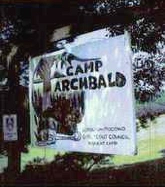 Scouting in Pennsylvania - Image: Camp Archbald Sign