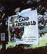 Camp Archbald Sign