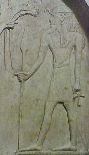 Resheph - Canaanite stele depicting Resheph