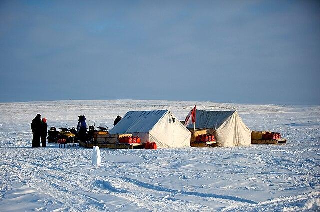 Canadian Rangers Training Camp in Alert, Nunavut (Canada)