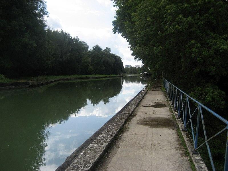 Canal latéral à la Marne,  Vitry-le-François