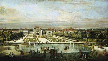 Canaletto: Nymphenburg Palace 1761