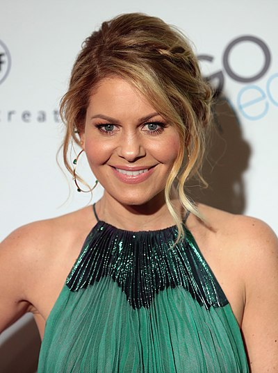 Candace Cameron, American actress, producer, author, and talk show panelist
