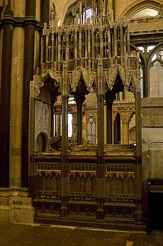 John de Stratford - Tomb of Stratford in Canterbury Cathedral